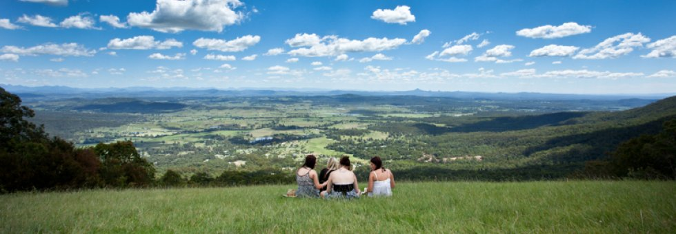 Breathe in the clean air of Tamborine Mountain